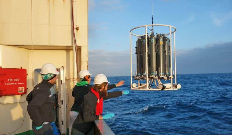 diatom research on ship