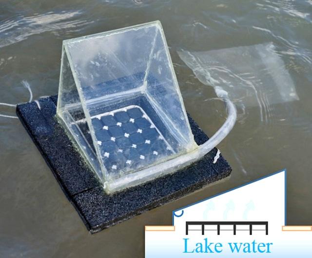 floating solar still