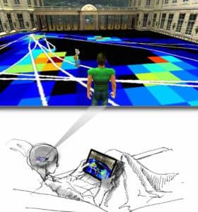 VR navigation illustration