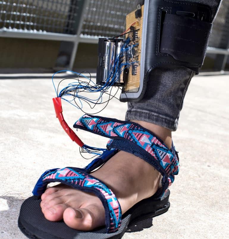 prototype sensor shoe