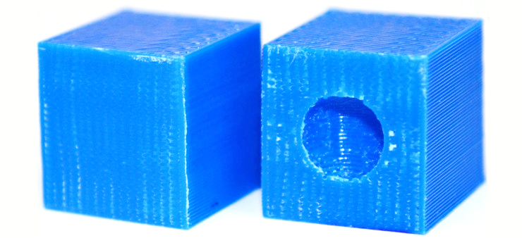 3D printing error example