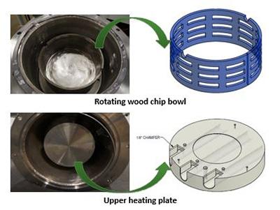 bio oil woodchip reactor