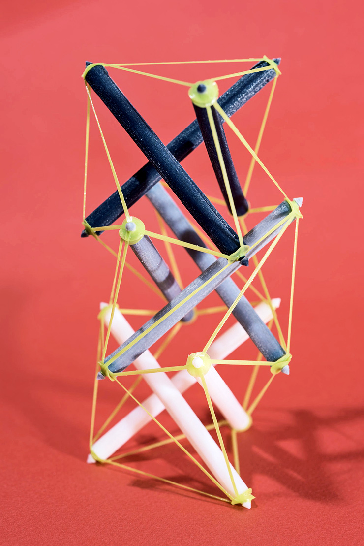 expanded tensegrity structure