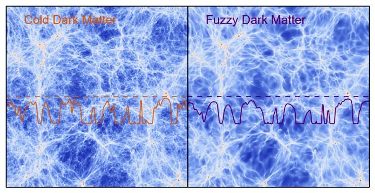 dark matter comparison
