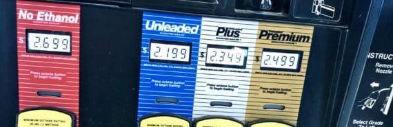 gas pump with ethanol