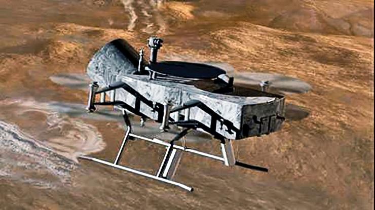 Dragonfly spacecraft