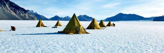 Taylor Glacier in Antarctica