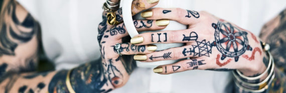 lots of tattoos