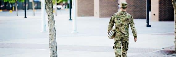 veteran on campus