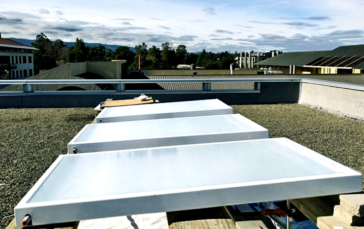 cooling system roof panels