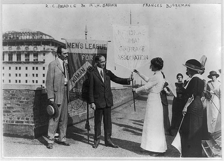 men's league for women's suffrage