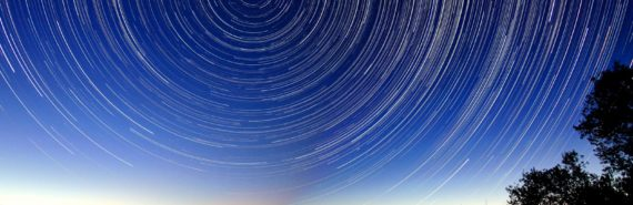 time-lapse of night sky with stars