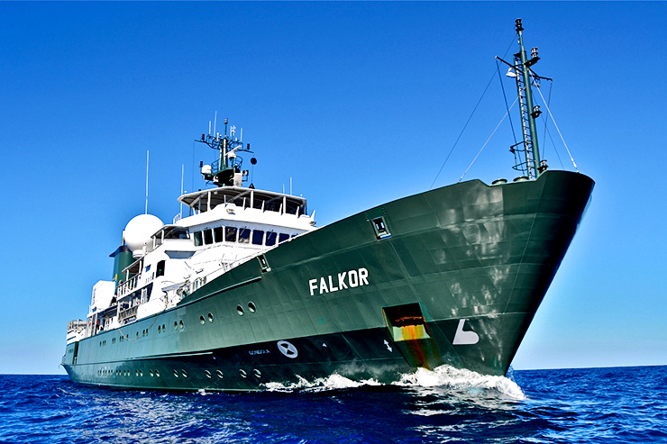 Falkor research vessel