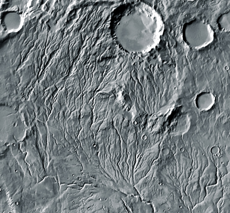 Mars valleys
