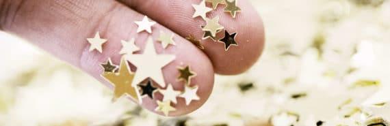 stars on fingers