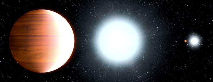 Kepler 13 illustration