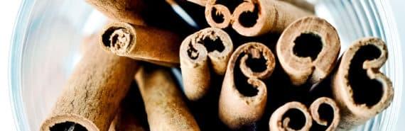cinnamon sticks in a cup