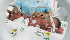 palestinian baby born preterm