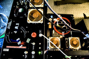 chemical detector's insides