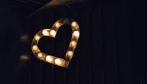 heart light (ventricular tachycardia + radiation concept)