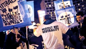 net neutrality activists protest the repeal