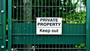 privacy sign (security concept)