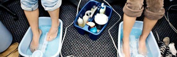 salon foot baths
