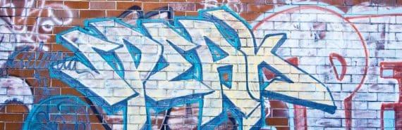"""""""speak"""" graffiti (languages concept)"""