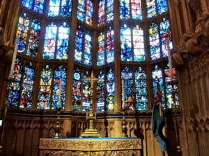 Westminster Abbey window