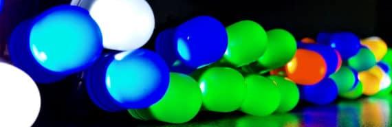 LEDs in the dark