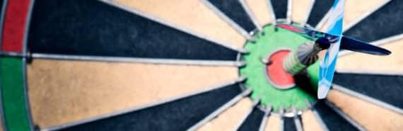 dart board (Huntington's disease drug target concept)