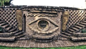 eyes and ears sculpture