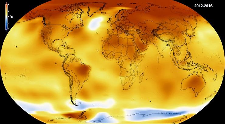global temp map 2016