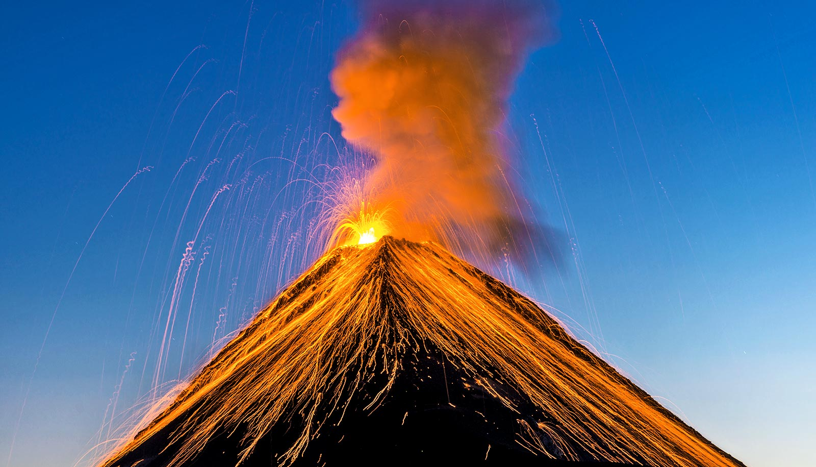 Volcanoes that can start to erupt
