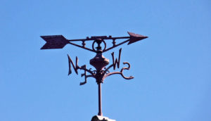 weather vane (winds on hot Jupiter concept)