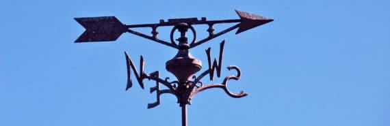 weather vane (winds on hot Jupiter concept)