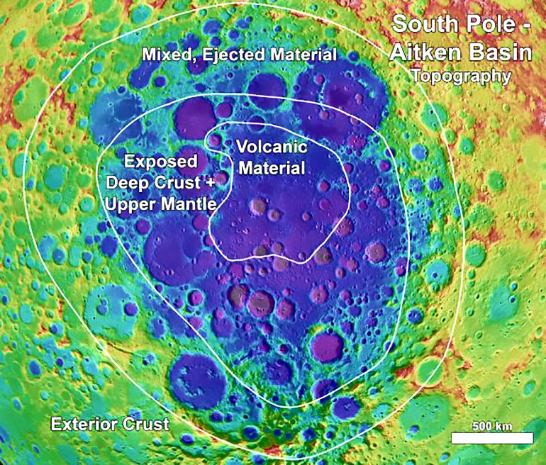 crater topography