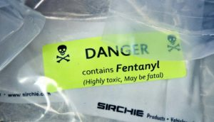 fentanyl warning sticker