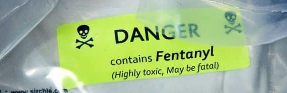 fentanyl warning sticker