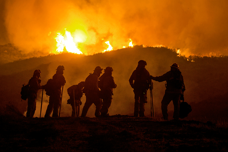 Forest Service wildfires photo