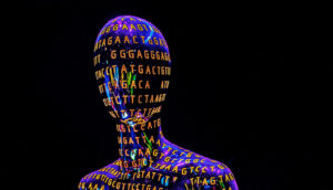 human genome statue
