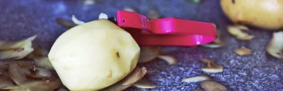 peeled potato (starch concept)