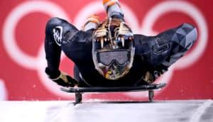 Akwasi Frimpong of Ghana skeleton Olympics