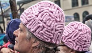 two brain caps
