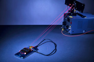 wireless laser charging system