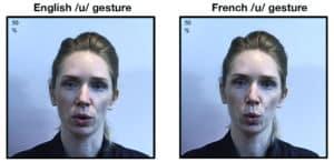 Lips & vowel sounds comparison
