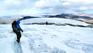Sutai Mountain (glaciers concept)
