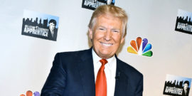 Trump red carpet event for the Apprentice (reality tv concept)