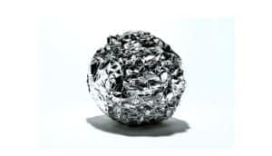 ball of tin foil
