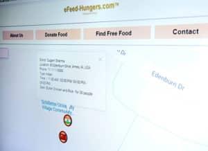 eFeed-Hungers.com screenshot